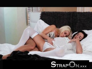 Strapon - Tracy Lindsay Giving Her Gf Orgasms