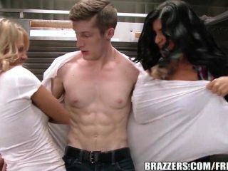 Brazzers - Food Truck Threesome