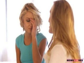 Moms Teach Sex - Mom And Daughter Tag Team Teen Boyfriend