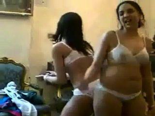 Pakistani College Girls Dance On Bra & Panties