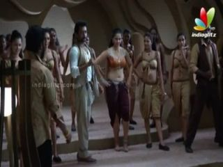 Anushka Hot Navel & Boob In Song Making  In Singam Ii U Hd 720p