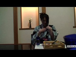 Subtitled Uncensored Shy Japanese Milf In Yukata In Pov
