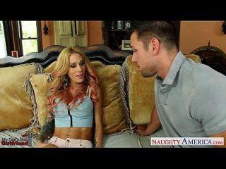 Slim Girlfriend Sarah Jessie Take Cock