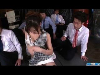 Aiko Hirose Gets Fucked By All Her Office Colleagues