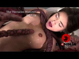 The Tentacles Monster Evelina Darlina