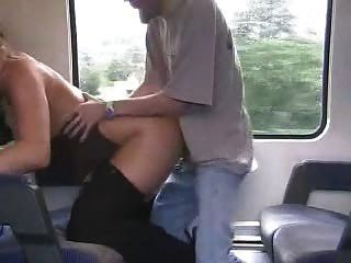 German Amateur Girl Fucked In Swiss Train