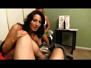 Sexy Therapist Teaches My Mom To Jerk Me Off