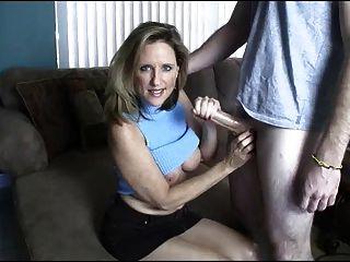 Mom Gives Handjob Toyoung Boy