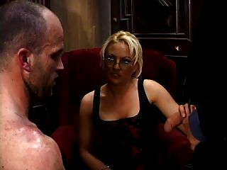 Hubby And Wife With A Stranger Mmf Threesome
