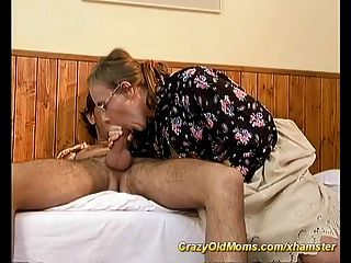 Moms Hairy Ass Gets Fucked