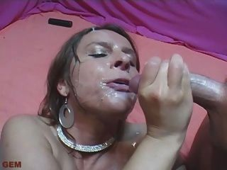 All Cumshots From A Gangbang