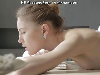 Few Minutes After Intense Massage Eva Hardly Fucks Dick
