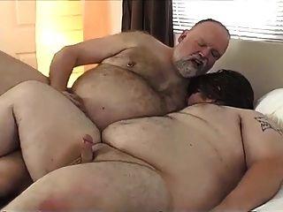 Муж толстяк трахает толстую жену видео