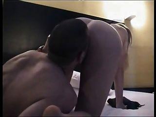 Fucking My Blonde Gf (19) With Banana