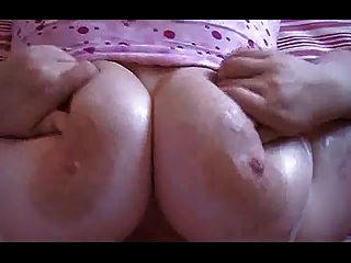 Bbw - Titty Play And Masturbation
