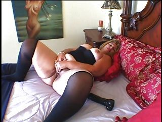 Chubby Woman Gets A Big Cock