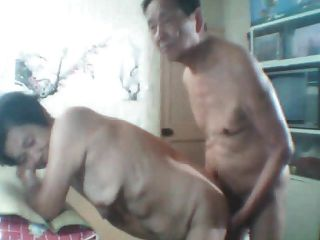Old Couple Getting It On
