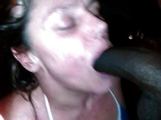 Cheating Granny Gives Me Blow Job After My Strippergram