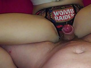 Waxed Wankoff Over Panties
