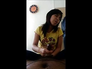 Indian Man Cumshots By Hj From Nice Vietnamese Girl