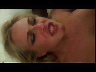 Sexy Blond Wife Black Cock Gangbang