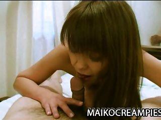 Mature Nippon Babe Emiko Okajima Having Sex Outdoors