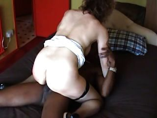 Mature Hotwife Takes Big Black Cock