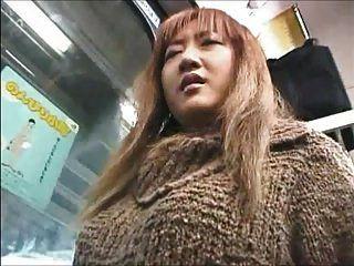 Asian Girl Groped On A Train