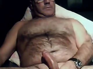 Sucking and eating cum of hairy moustache daddy tmb