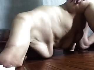 Very Old Chinese Granny Getting Bonked