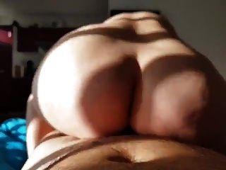 Slut Riding Big Cook