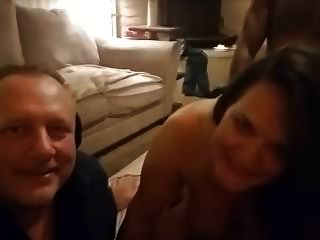 Wife Bbc Double Penetrated Husband Watching