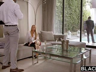 Blacked Nicole Aniston Is Double Teamed By Bbc On Her Day Of
