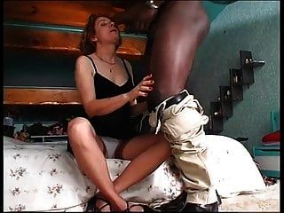 Black Big Bamboo For My Mom!!! Anal Time