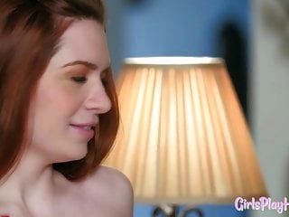 Ginger Lesbians Scissoring After Squirting