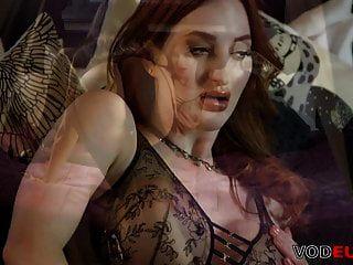 Vodeu - Big Titted Lesbian Babes Scissoring